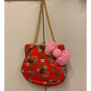 サンリオ - キティちゃん 和柄 ハンドバッグ