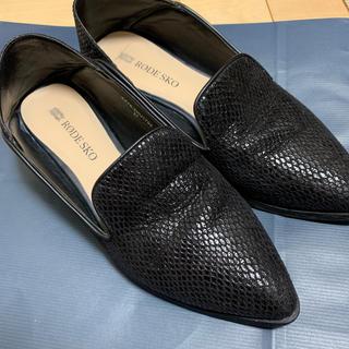 ジーナシス(JEANASIS)のポインテッドトゥローファー(ローファー/革靴)