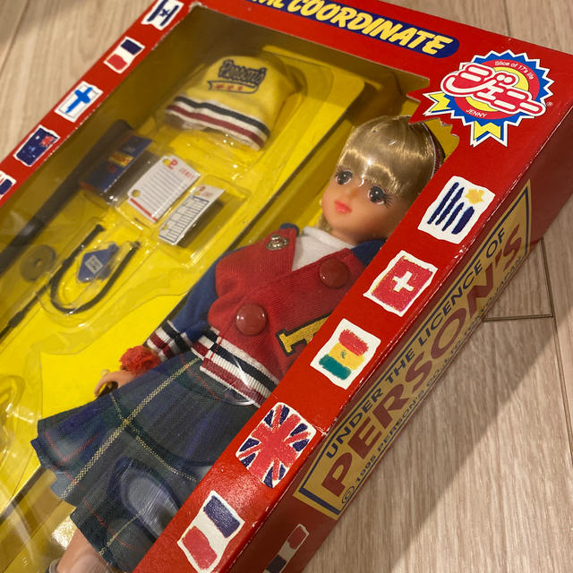 Takara Tomy(タカラトミー)のタカラ ジェニー パーソンズジェニー   キッズ/ベビー/マタニティのおもちゃ(ぬいぐるみ/人形)の商品写真