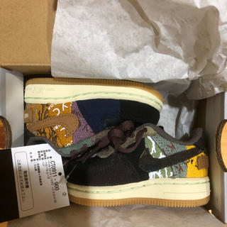 NIKE - 10cm NIKE AIR FORCE 1 Travis Scott