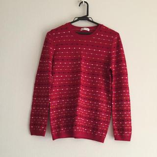 赤のセーター(ニット/セーター)