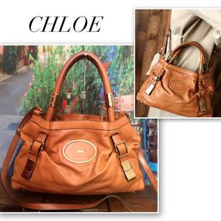 Chloe - 【クロエ】ヴィクトリア❤️2way✨レザーバッグ(送料込)