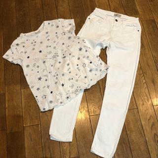 ザラキッズ(ZARA KIDS)のZARA  kids Tシャツ152&パンツ140セット(Tシャツ/カットソー)