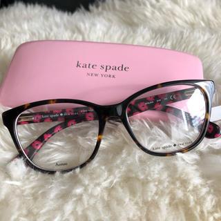 kate spade new york - 新品 ケイトスペード メガネ べっ甲 フレーム