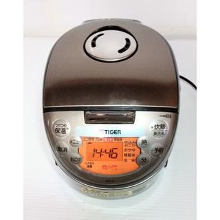 タイガー(TIGER)のタイガー IH炊飯ジャー 容量0.54L JKO-G550ブラウン2012年製(炊飯器)