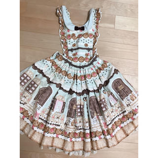 Angelic Pretty - AngelicPretty sweet cream house柄エプロンスカート