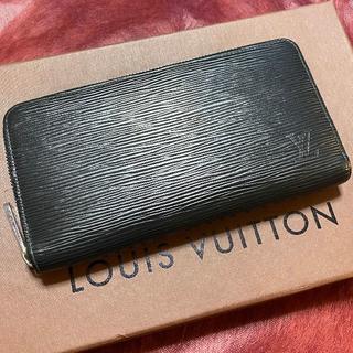 LOUIS VUITTON - 感謝祭セール❤極美品❤ ルイヴィトン ジッピーウォレット 長財布 エピ ブラック