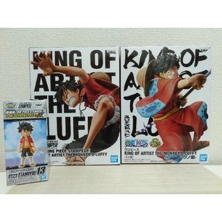 KING OF ARTIST ルフィ スタンピード ワノ国 フィギュア3体セット