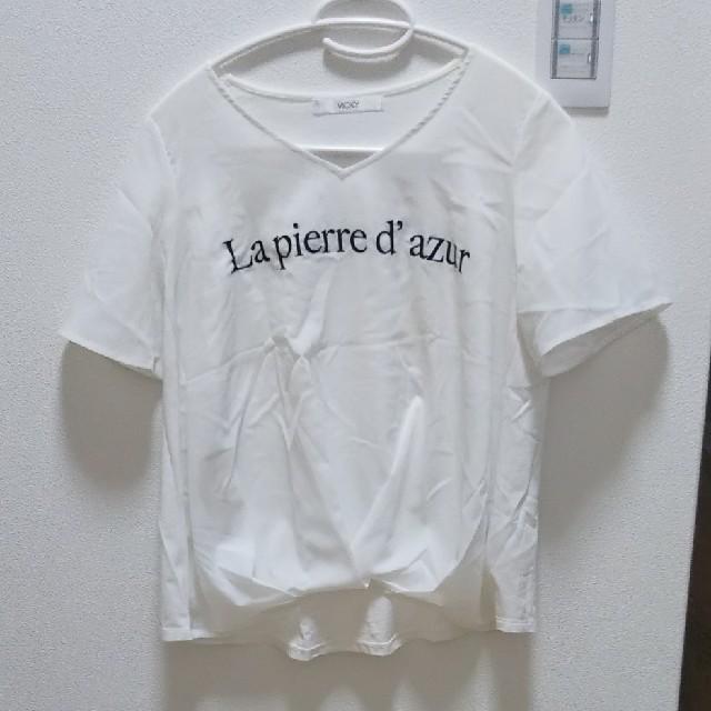VICKY(ビッキー)のVICKY トップスシャツ☆美品☆ レディースのトップス(カットソー(半袖/袖なし))の商品写真