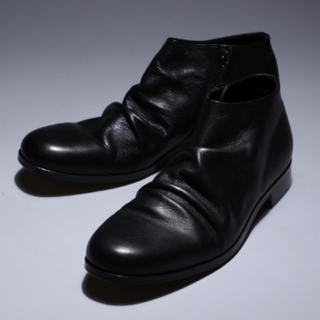 PADRONE - 【PADRONE】SHORT SIDE ZIP BOOTS サイズ42