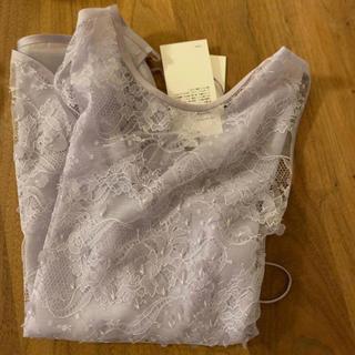マメ(mame)のmame 春に❤︎  パープル ブラウス シャツ(シャツ/ブラウス(半袖/袖なし))
