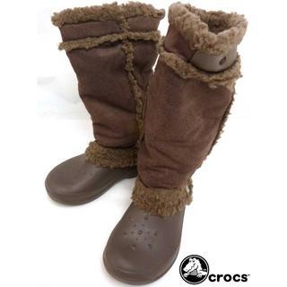 クロックス(crocs)のCROCS クロックス ボア付きブーツ W6(22cm相当)(レディース)(ブーツ)