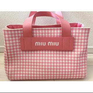 miumiu - miumiu  ギンガムチェック 完売品