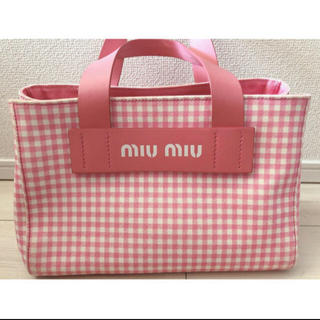 miumiu - miumiu  ギンガムチェック 今週削除