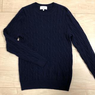 グリーンレーベルリラクシング(green label relaxing)のグリーンレーベル カシミヤ100% セーター(ニット/セーター)