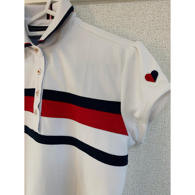 TOMMY HILFIGER(トミーヒルフィガー)のTOMYゴルフウェア半袖 トミーフィルフィガー レディースのトップス(ポロシャツ)の商品写真