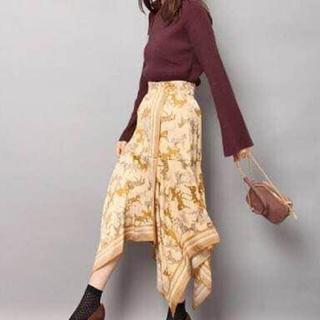 Lily Brown - 美品 リリーブラウン ホース柄 スカート ホース柄 馬
