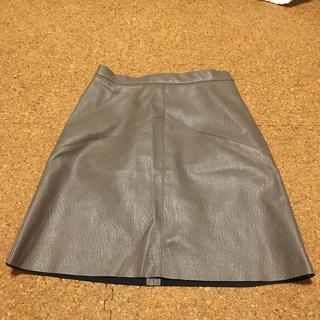 エイチアンドエム(H&M)のH&M レザーミニスカート 32 XS(ミニスカート)