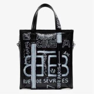 バレンシアガバッグ(BALENCIAGA BAG)のバレンシアガ グラフィティ bazar bag XS 新品未使用 (ハンドバッグ)