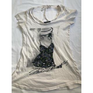 スパイラルガール(SPIRAL GIRL)のスパイラルガール 長めのTシャツ(Tシャツ(半袖/袖なし))