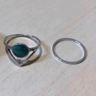 シルバー 指輪 リング セット(リング(指輪))