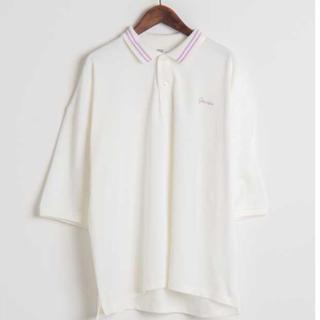 ウィゴー(WEGO)のWEGO 5分袖ポロシャツ(ポロシャツ)