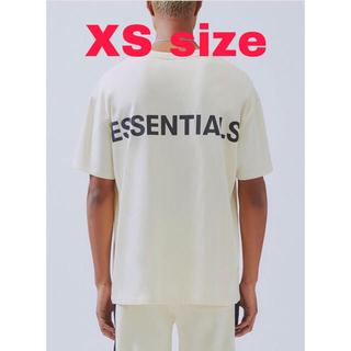 フィアオブゴッド(FEAR OF GOD)の【ESSENTIALS】リフレクティブ ロゴ Tシャツ XSサイズ(Tシャツ/カットソー(半袖/袖なし))