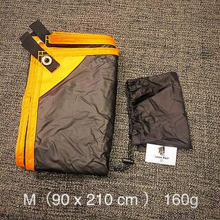 GEERTOP グランドシート 軽量 防水 Mサイズ(90cm × 120cm)