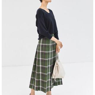 green label relaxing - グリーンレーベルリラクシングプリーツスカート