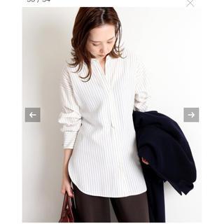 IENA - IENA ヴィスコースシャツ 38