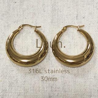 Ron Herman - j303.plump hoop pierce(gold)