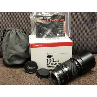 Canon - 極上 Canon EF 100mm F2.8 Macro USM キャノン マク