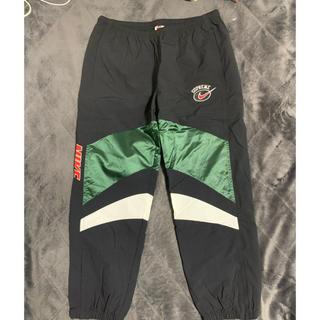 Supreme - 国内正規 supreme nike warm up pants Green M