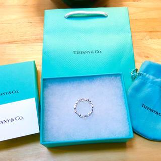 ティファニー(Tiffany & Co.)のTIFFANY&CO. ティファニー ラビングハート シルバー925 12号(リング(指輪))