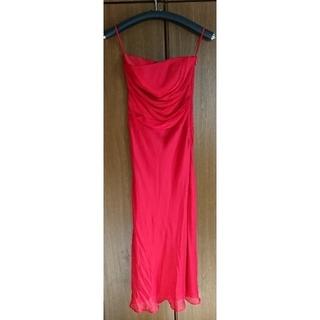 エメ(AIMER)のジュネビビアン ロングドレス 赤 レッド(ロングドレス)