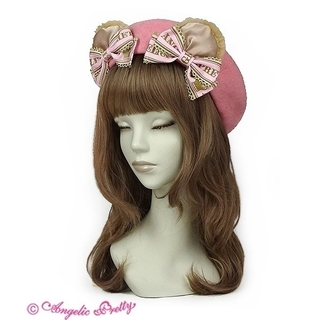 Angelic Pretty - 【Angelic Pretty】Dream Ribbon Bearベレー♡ピンク