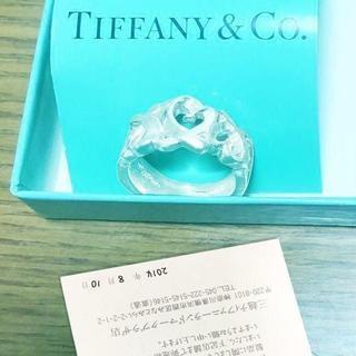Tiffany & Co. - ☆新品☆未使用☆ティファニー パロマピカソトリプルラビングハートリング8号