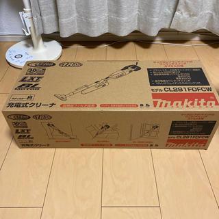 Makita - マキタ 充電式クリーナー CL281FDFCW 新品 サイクロン付き