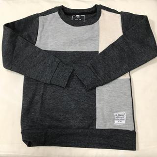 イッカ(ikka)の新品 ikka 120cm トレーナー 裏起毛(Tシャツ/カットソー)