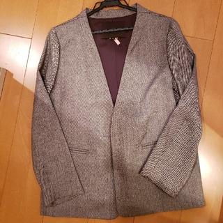 UNITED ARROWS - jewelchanges ノーカラージャケット