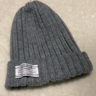GU - ニットキャップ ニット帽 グレー