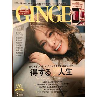 付録付き!GINGER (ジンジャー) 2020年 03月号