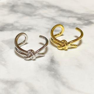 IENA - No58 結び目 ノット デザイン リング 指輪 シンプル シルバー ゴールド