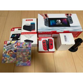 Nintendo Switch - Nintendo SWITCH ☆★本体+ソフト(マリオ)+豪華セット★☆