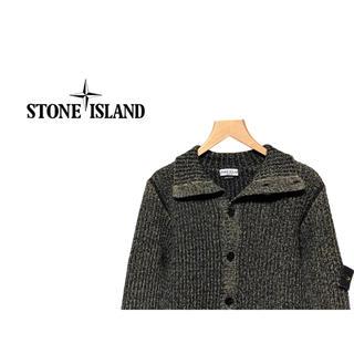 ストーンアイランド(STONE ISLAND)のSTONE ISLAND ミックス ニット ジャケット / カーディガン ウール(カーディガン)