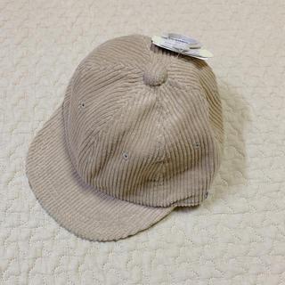 フタフタ(futafuta)のテータテート コーデュロイキャップ 46cm(帽子)