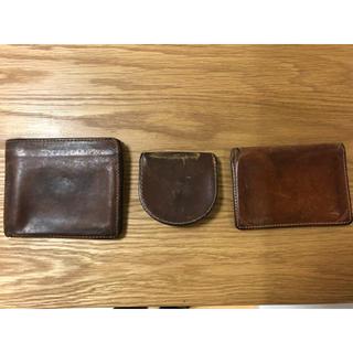 ホワイトハウスコックス(WHITEHOUSE COX)のWhitehouse Cox 財布/名刺入れ3点セット(折り財布)