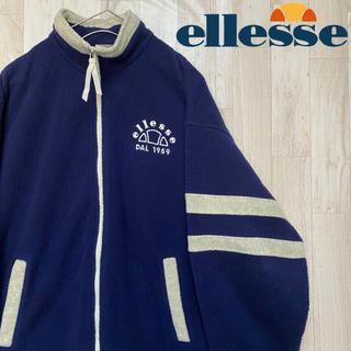 ellesse - 【エレッセ 】POLARTEC/フルジップフリース/ワンポイントロゴ