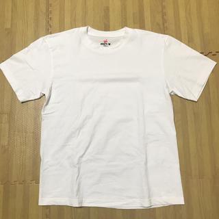 ヘインズ(Hanes)のヘインズ ビーフィー Tシャツ M 国内正規品 白 コットン 100%(Tシャツ/カットソー(半袖/袖なし))