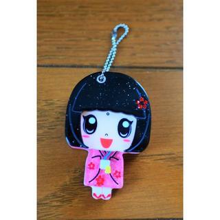舞妓さんチェーンミラー(ボトル・ケース・携帯小物)
